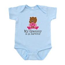 Breast Cancer Survivor Grammy Infant Bodysuit