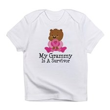 Breast Cancer Survivor Grammy Infant T-Shirt