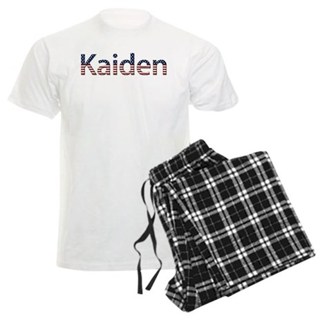 Kaiden Stars and Stripes Men's Light Pajamas