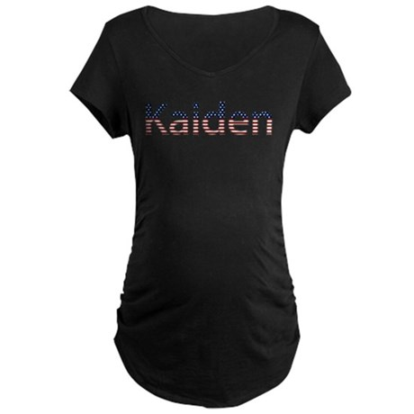 Kaiden Stars and Stripes Maternity Dark T-Shirt