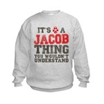 A Jacob Thing Kids Sweatshirt