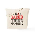A Jacob Thing Tote Bag