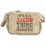 A Jacob Thing Messenger Bag