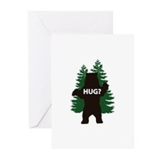 Bear hug? Greeting Cards (Pk of 20)