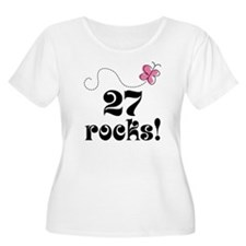 27th Birthday Butterfly T-Shirt