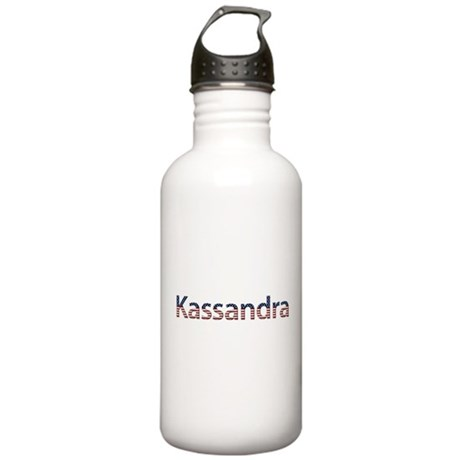 Kassandra Stars and Stripes Stainless Water Bottle