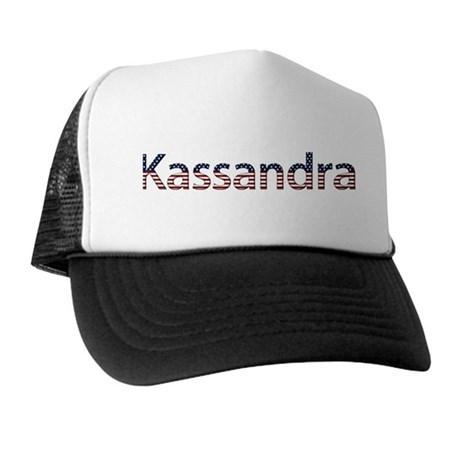 Kassandra Stars and Stripes Trucker Hat