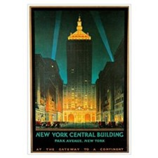 Vintage New York Central Building
