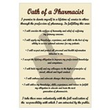 Pharmacist's Oath