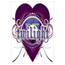 New Moon Mystic Purple Heart