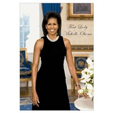Cute Michele obama Wall Art