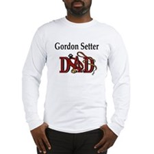 Gordon Setter Dad Long Sleeve T-Shirt