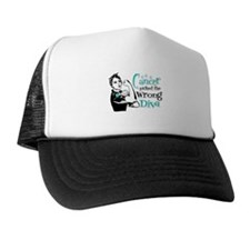 Wrong Diva Ovarian Cancer Trucker Hat