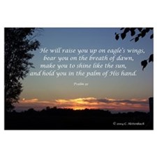 On Eagle's Wings...Psalm 91