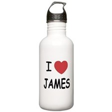 I heart James Water Bottle