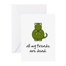 Dinosaur Friends Dead Greeting Cards (Pk of 10)