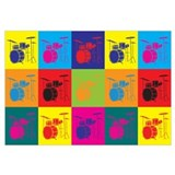 Drums Pop Art