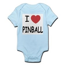 I heart pinball Infant Bodysuit