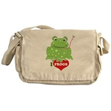 Toadily Frog Messenger Bag