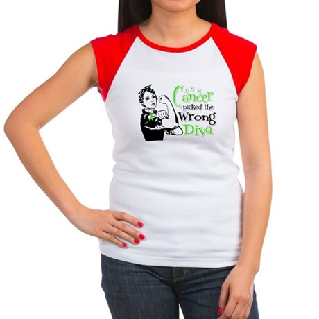 Wrong Diva Lymphoma Women's Cap Sleeve T-Shirt