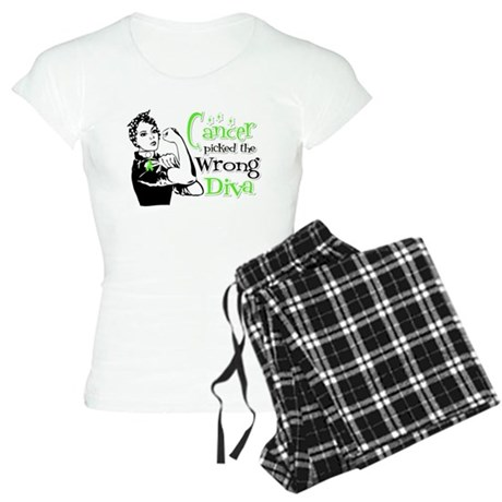 Wrong Diva Lymphoma Women's Light Pajamas