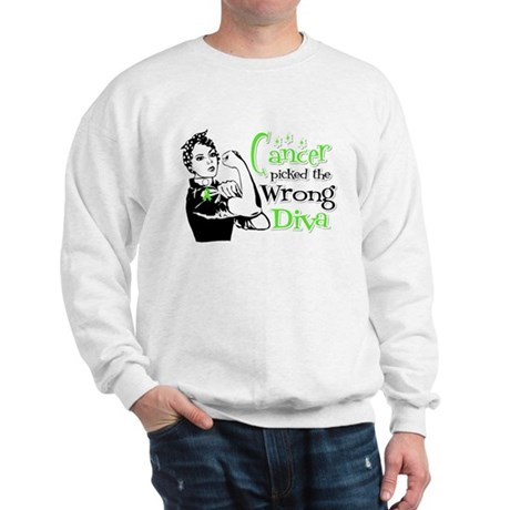 Wrong Diva Lymphoma Sweatshirt