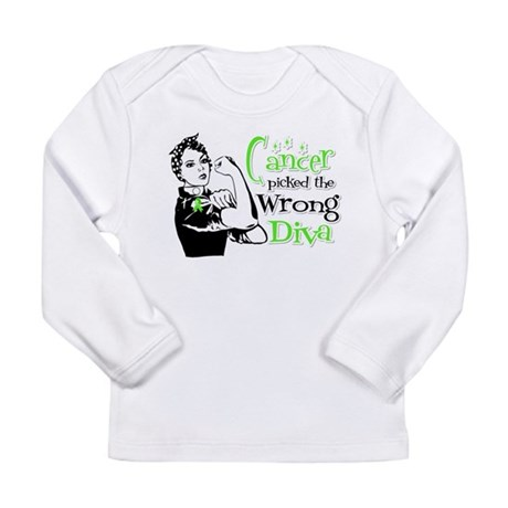 Wrong Diva Lymphoma Long Sleeve Infant T-Shirt