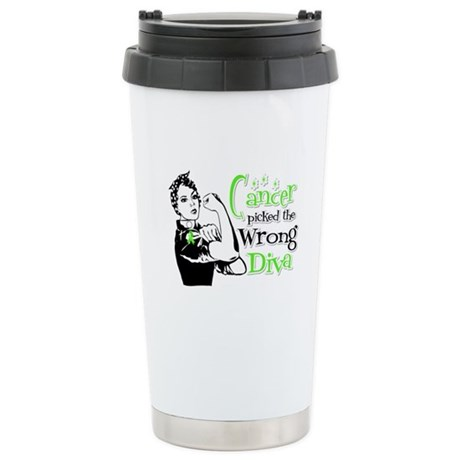 Wrong Diva Lymphoma Ceramic Travel Mug