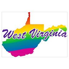 Gay Pride Rainbow West Virginia