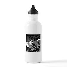 Guitar Splatter Water Bottle