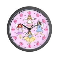 Fairy Princesses Wall Clock