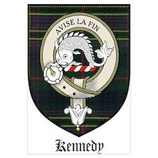 Kennedy Clan Crest Tartan