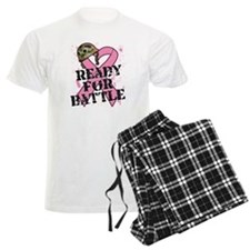 Ready For Battle BreastCancer Pajamas