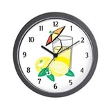 Lemonade Wall Clock