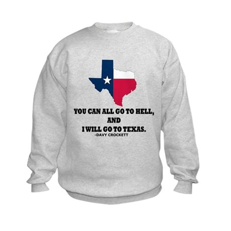 DAVY CROCKETT Kids Sweatshirt