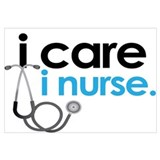 i care i nurse blue