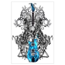 Praying Angel Skeleton Guitar