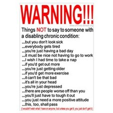 Chronic Condition Warning