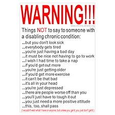 Chronic Condition Warning
