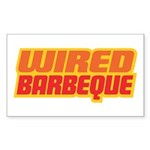 WiredBarbeque Rectangle Sticker