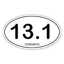 Toronto Half Marathon Bumper Stickers