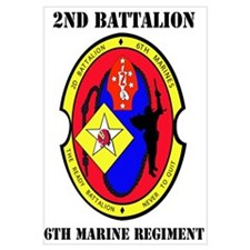 2nd Battalion - 6th Marines with Text