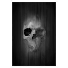 Aggressive Skull (Gray)