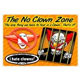 Limited Edition No Clown Zone Print