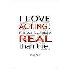 Oscar Wilde Quote on Acting