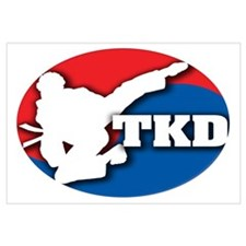 Cute Tkd Wall Art