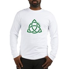Holy Trinity Green Long Sleeve T-Shirt