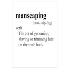 MANSCAPING / Gay Slang