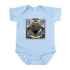 US Navy SWCC USN Infant Bodysuit