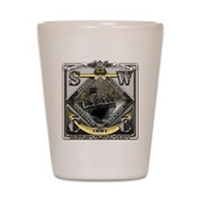 US Navy SWCC USN Shot Glass